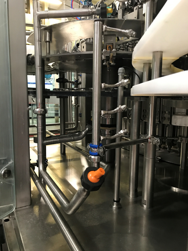 Installation Of Filler Cleaning System
