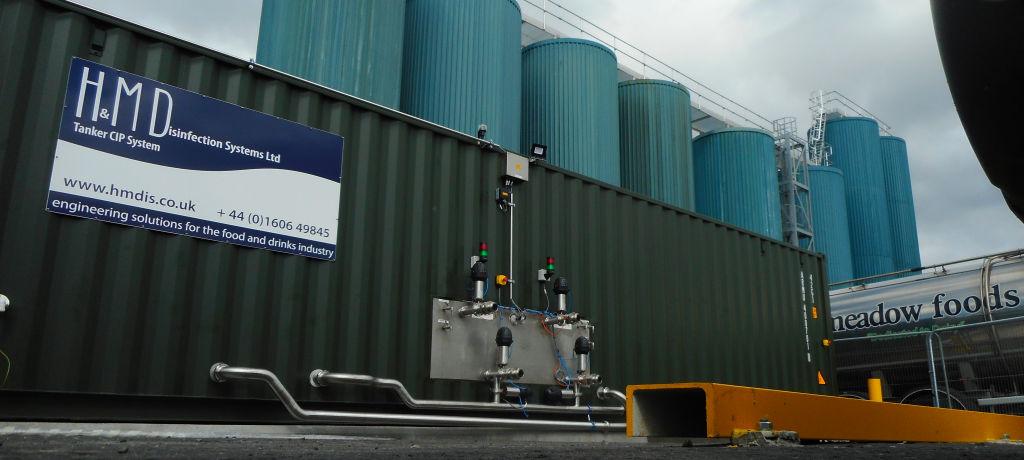 Bellshill Tanker CIP System
