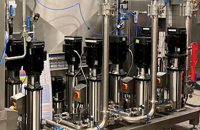 Bespoke Factory Washdown System